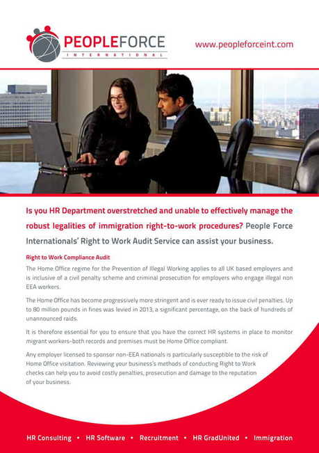 Right to Work Audit Services